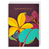 flower birthday Lagom happy hanna-werning funky quirky unusual modern cool card cards greetings greeting original classic wacky contemporary art illustration fun