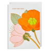 flowers flower happy birthday Lagom hanna-werning funky quirky unusual modern cool card cards greetings greeting original classic wacky contemporary art illustration fun