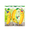 Birthday funky quirky unusual modern cool card cards greetings greeting original classic wacky contemporary art illustration fun vintage retro fluff googly eyes googlies tracks bananas