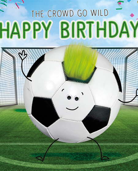 football googly eyes funny Birthday funky quirky unusual modern cool card cards greetings greeting original classic wacky contemporary art illustration fun vintage retro fluff googly eyes googlies tracks