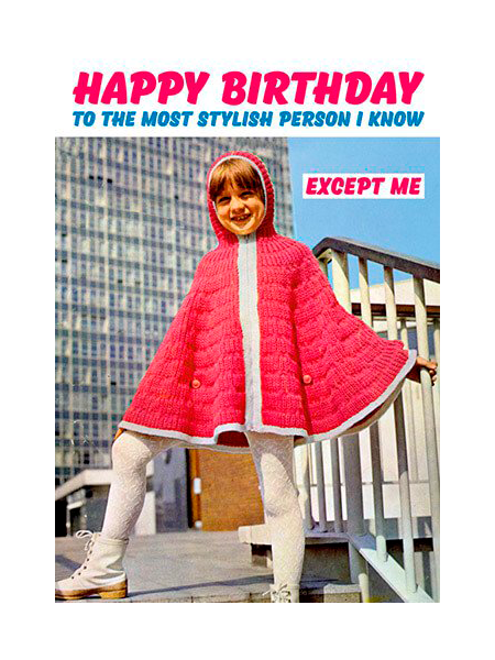 dean-morris stylish funny birthday funky quirky unusual modern cool card cards greetings greeting original classic wacky contemporary art photographic fun vintage retro
