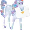 funky quirky unusual modern cool card cards greetings greeting original classic wacky contemporary art photographic fun vintage retro 3D cut-out unicorn special-delivery
