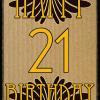 retro vintage birthday 21 Malarkey-Cards