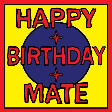 birthday mate Malarkey-Cards