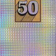 funky quirky unusual modern cool card cards greetings greeting original classic wacky contemporary art illustration photographic shiny tiled birthday 50 50th fifty fiftieth the-art-group