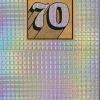 shiny foiled the-art-group birthday 70 70th seventieth seventy