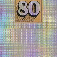 funky quirky unusual modern cool card cards greetings greeting original classic wacky contemporary art illustration photographic shiny foiled birthday 80 80th eightieth eighty the-art-group