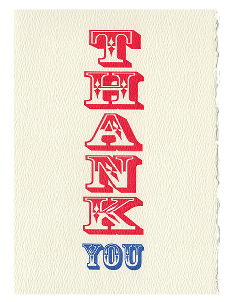 funky quirky unusual modern cool card cards greetings greeting original classic wacky contemporary art illustration fun vintage retro letterpress thank you Archivist-Cards