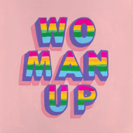 funky quirky unusual modern cool card cards greetings greeting original classic wacky contemporary art illustration photographic slogan woman up feminism feminist Sophie-ward east-end-prints art
