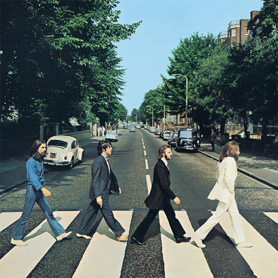 abbey road beatles album cover music hype-cards