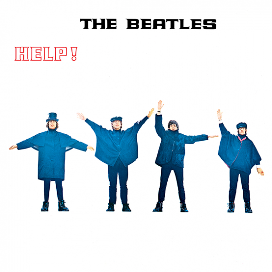help beatles album cover music hype-cards