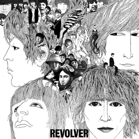 revolver beatles album cover music hype-cards