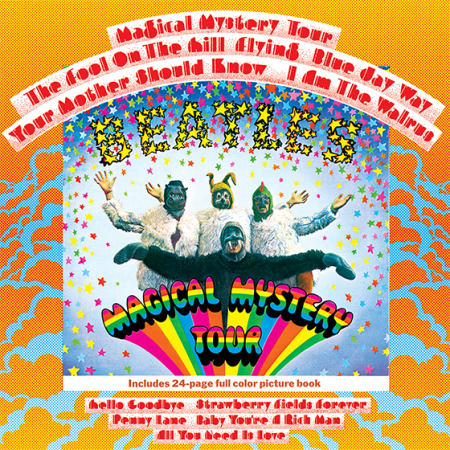 magical mystery tour beatles hype-cards album cover music