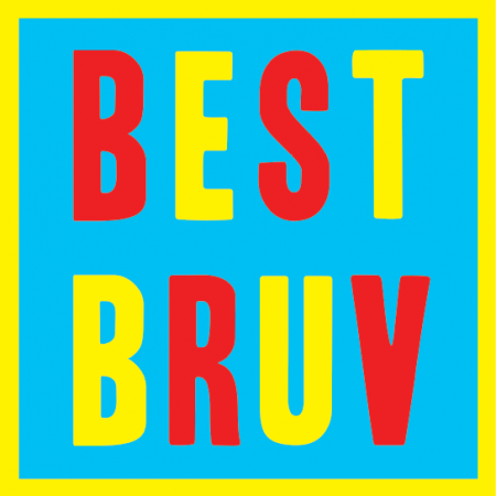 brother bruv best birthday malarkey-cards funky quirky unusual modern cool card cards greetings greeting original classic wacky contemporary art illustration fun vintage retro malarkey Brighton birthday