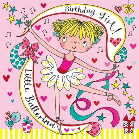 rachel ellen jigsaw kids birthday ballerina