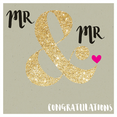 mr gay wedding rachel ellen sparkling gold flitter