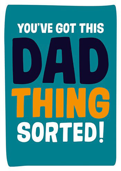 funky quirky unusual modern cool card cards greetings greeting original classic wacky contemporary art photographic fun vintage retro dad sorted dean-morris slogan funny fathers-day dad