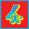 funky quirky unusual modern cool card cards greetings greeting original classic wacky contemporary art illustration photographic vintage retro kids malarkey-cards circus ringmaster birthday age circus 4 four fourth 4th Brighton malarkey