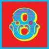 funky quirky unusual modern cool card cards greetings greeting original classic wacky contemporary art illustration photographic vintage retro kids malarkey-cards circus ringmaster birthday age circus 8 eight eighth 8th malarkey Brighton