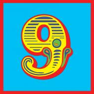 funky quirky unusual modern cool card cards greetings greeting original classic wacky contemporary art illustration photographic vintage retro kids malarkey-cards circus ringmaster birthday age circus 9 nine 9th ninth Brighton malarkey
