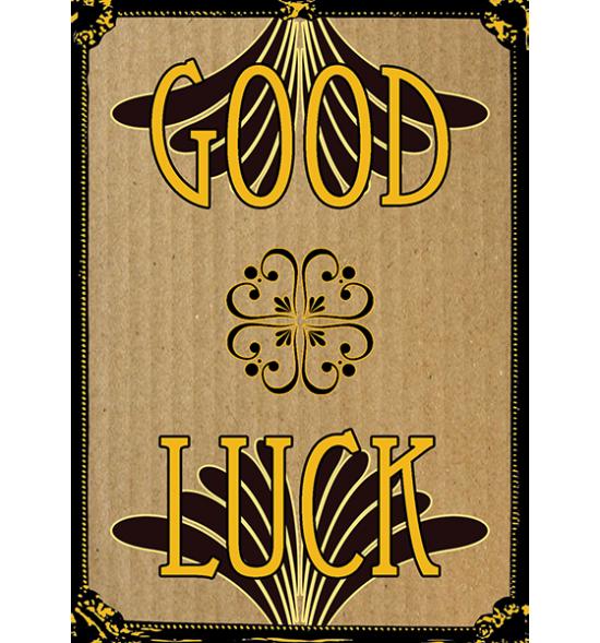 funky quirky unusual modern cool card cards greetings greeting original classic wacky contemporary art illustration fun vintage good-luck luck malarkey malarkey-cards Brighton
