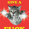 funky quirky unusual modern cool card cards greetings greeting original classic wacky contemporary art illustration photographic distinctive vintage retro toypincher humourous funny cats don't give a fuck swearing rude