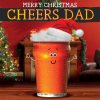 funky quirky unusual modern cool card cards greetings greeting original classic wacky contemporary art illustration photographic distinctive vintage retro Christmas xmas Tracks googly-eyes fluff funny dad beer cheers