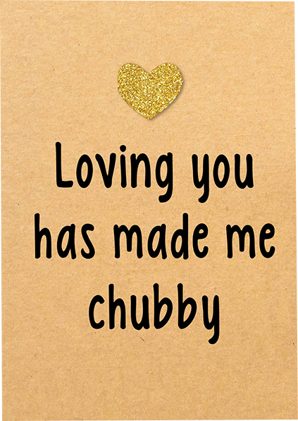 funky quirky unusual modern cool card cards greetings greeting original classic wacky contemporary art illustration photographic distinctive vintage retro humourous funny Bettie-Confetti valentine valentine's-day gold glitter heart loving you chubby