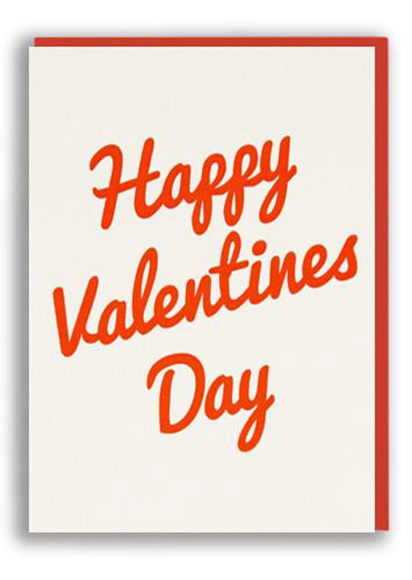funky quirky unusual modern cool card cards greetings greeting original classic wacky contemporary art illustration photographic distinctive vintage retro humourous funny 1973 nineteen seventy three valentine valentine's-day letterpress love happy Valentine's Day