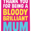 funky quirky unusual modern cool card cards greetings greeting original classic wacky contemporary art illustration photographic distinctive vintage retro humourous funny mother's day mum mother mummy card Dean Morris brilliant