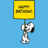 funky quirky unusual modern cool card cards greetings greeting original classic wacky contemporary art illustration photographic vintage retro kids tv Schulz peanuts Charlie Brown snoopy comic book cartoon hype birthday