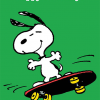 funky quirky unusual modern cool card cards greetings greeting original classic wacky contemporary art illustration photographic vintage retro kids tv Schulz peanuts Charlie Brown snoopy comic book cartoon hype birthday skateboard