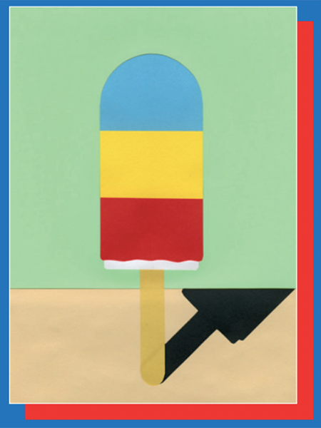 funky quirky unusual modern cool card cards greetings greeting original classic wacky contemporary art illustration photographic east end prints birthday ice Henry lolly rosi feist