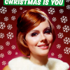 funky quirky unusual modern cool card cards greetings greeting original classic wacky contemporary art illustration photographic distinctive vintage retro Christmas xmas malarkey dean morris humourous funny all I want for Christmas is you and diamonds dmx230