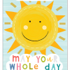 Malarkey Cards Brighton sell funky quirky unusual modern cool card cards greetings greeting original classic wacky contemporary art illustration photographic distinctive vintage retro humourous funny mother's day mum mother mummy card Think of me designs may your whole day shine sun mdy01
