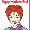 Malarkey Cards Brighton sell funky quirky unusual modern cool card cards greetings greeting original classic wacky contemporary art illustration photographic distinctive vintage retro humourous funny mother's day mum mother mummy card Bite Your Granny Toypincher dot cotton Eastenders alright ma