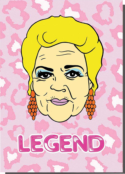 Malarkey Cards Brighton sell funky quirky unusual modern cool card cards greetings greeting original classic wacky contemporary art photographic birthday fun vintage bite your granny toy pincher pat butcher legend eastenders