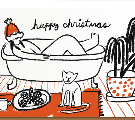 Malarkey Cards Brighton sell funky quirky unusual modern cool original classic wacky contemporary art illustration photographic distinctive vintage retro funny rude humorous birthday Christmas xmas seasonal greetings cards eggpress 1973 PIL2034 bath