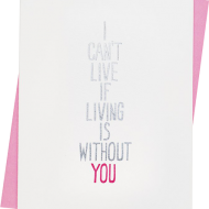 Malarkey Cards Brighton sell funky quirky kitsch unusual modern cool original classic wacky contemporary art illustration photographic distinctive vintage retro funny rude humorous birthday seasonal greetings cards valentines day love heart 1973 i cant live if living is without you