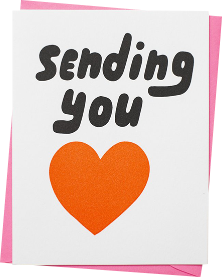 Malarkey Cards Brighton sell funky quirky kitsch unusual modern cool original classic wacky contemporary art illustration photographic distinctive vintage retro funny rude humorous birthday seasonal greetings cards valentines day love heart 1973 sending you love heart