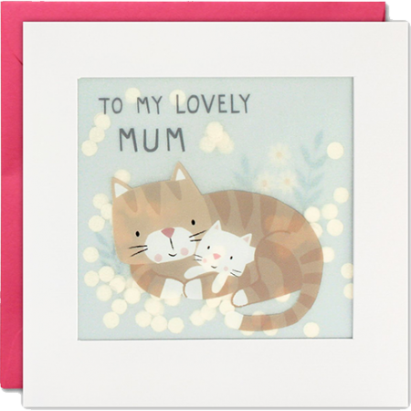 Malarkey Cards Brighton sell funky quirky kitsch unusual modern cool original classic wacky contemporary art illustration photographic distinctive vintage retro funny rude cute humorous birthday seasonal greetings cards mothers day shakies james ellis cat confetti mum