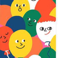 Malarkey Cards Brighton sell funky quirky kitsch unusual modern cool original classic wacky contemporary art illustration photographic distinctive vintage retro funny rude cute humorous birthday seasonal greetings cards prints frames socks bench cachete jack 1973 nineteenseventythree balloons
