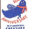 Malarkey Cards Brighton sell funky quirky kitsch unusual modern cool original classic wacky contemporary art illustration photographic distinctive vintage retro funny rude cute humorous birthday seasonal greetings cards 1973 nineteenseventythree egg press anniversary wonderful creature