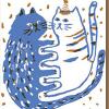 Malarkey Cards Brighton sell funky quirky kitsch unusual modern cool original classic wacky contemporary art illustration photographic distinctive vintage retro funny rude cute humorous birthday seasonal greetings cards prints frames socks eggpress 1973 nineteenseventythree cat