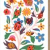 Malarkey Cards Brighton sell funky quirky unusual modern cool original classic wacky contemporary art illustration photographic distinctive vintage retro funny rude humorous birthday seasonal greetings cards early bird designs Nadia Taylor ladybugs ladybirds